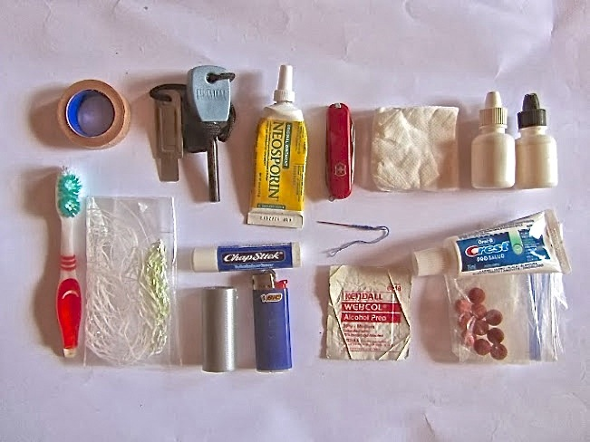 Backpacking First-Aid Kit