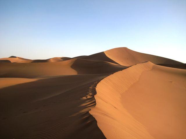 Erg Chigaga Sahara Desert Morocco 2008 The Hiking Life