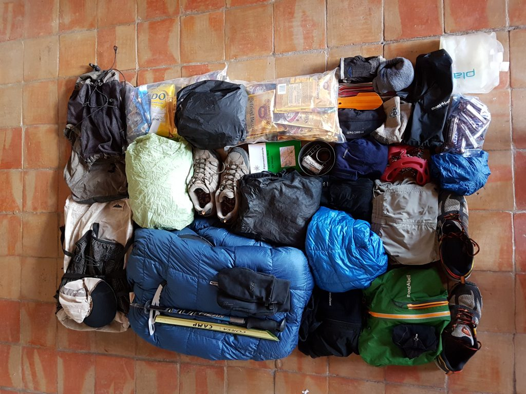 Backpacking Gear Philosophy